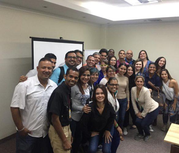 Taller a comunicadores en el estado Zulia - Codhez